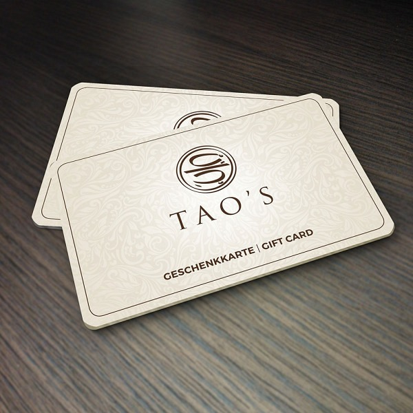 Gutschein Tao's